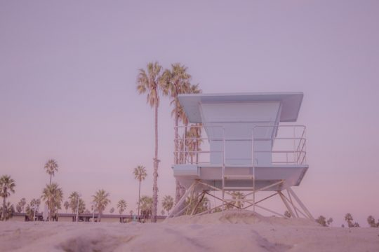 Long Beach Lifeguard Tower
