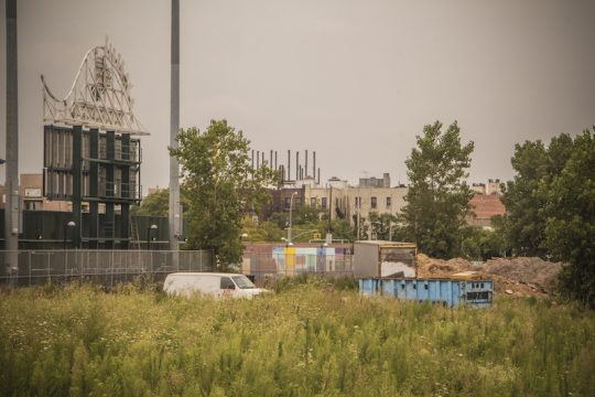 Behind Brooklyn Cyclones Ballpark